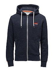 ORANGE LABEL CALI ZIPHOOD - BASS BLUE GRINLE