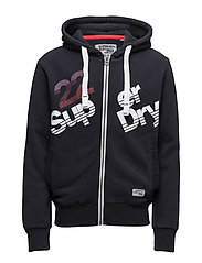 SUP ZIP HOOD - ECLIPSE NAVY
