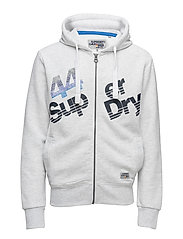 SUP ZIP HOOD - ICE MARL