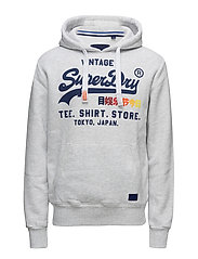 SWEAT SHIRT SHOP SURF HOOD - ICE MARL
