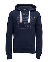 VINTAGE AUTHENTIC TONAL HOOD - NAUTICAL NAVY