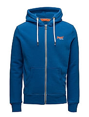 ORANGE LABEL ZIPHOOD - STATE COBALT