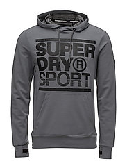 GYM TRAINING OVERHEAD HOOD - LIGHT GREY