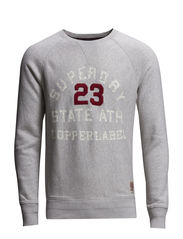 COPPER LABEL-FASTBACK CREW SWEAT - Ventura Grey Grit