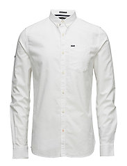 ULTIMATE OXFORD L/S SHIRT - OPTIC