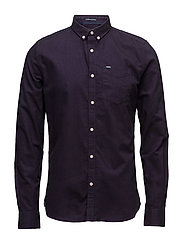 ULTIMATE OXFORD L/S SHIRT - PLUM