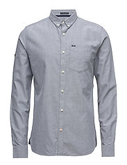 ULTIMATE OXFORD L/S SHIRT - STEEL