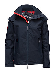 HOODED TECNICAL CLIFF HIKER - ECLIPSE NAVY/HYPER RED
