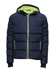 SPORTS PUFFER - NAVY/LIME PUNCH