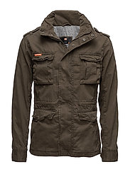 CLASSIC ROOKIE MILITARY JACKET - FOREST KHAKI