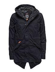 CLASSIC ROOKIE MILITARY PARKA - MIDNIGHT