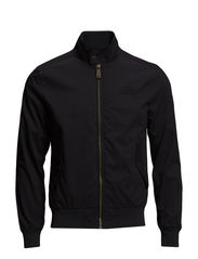 LONGHORN HARRINGTON-JACKET - Black