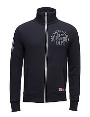 TRACKSTER TRACK TOP - BLUE BLACK GRIT