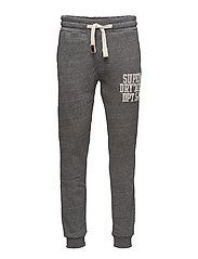 CORE APPLIQUE JOGGER - HOXTON GREY MARL