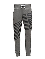 DIAGONAL JOGGER - SPORTS DK GREY GRIT/CHARCOAL