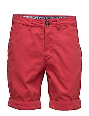 INTERNATIONAL CHINO SHORT - DECK RED
