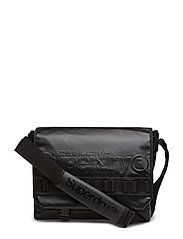 MERCHANT MESSENGER BAG - BLACK