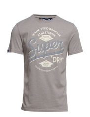JE SUIS ATHLETIQUE-ENTRY TEE - Grey Jaspe