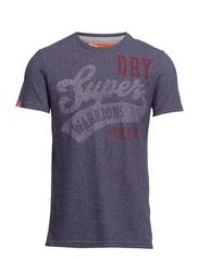 GRIT WARRIORS TEE - Midnight Jaspe