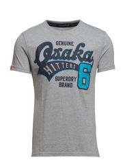HITTERS ENTRY TEE - Grey Marl