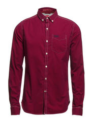 LONDON BUTTON-DOWN SHIRT - Dartford Red Gingham