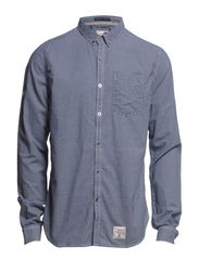 PENTECHNICAN-OXFORD SHIRT - Big Dogtooth Navy