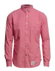 PENTECHNICAN-OXFORD SHIRT - Serpentine Red Gingham
