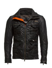 FALCON JACKET - Black