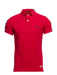 VINTAGE DESTROYED SS-HIT POLO - POPPY RED