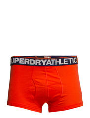 ATHLETIC CORE SHORT - Hazrd Orange/Navy/Hazrd Orange