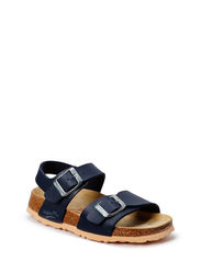 FOOTBED SLIPPERS - BLUE