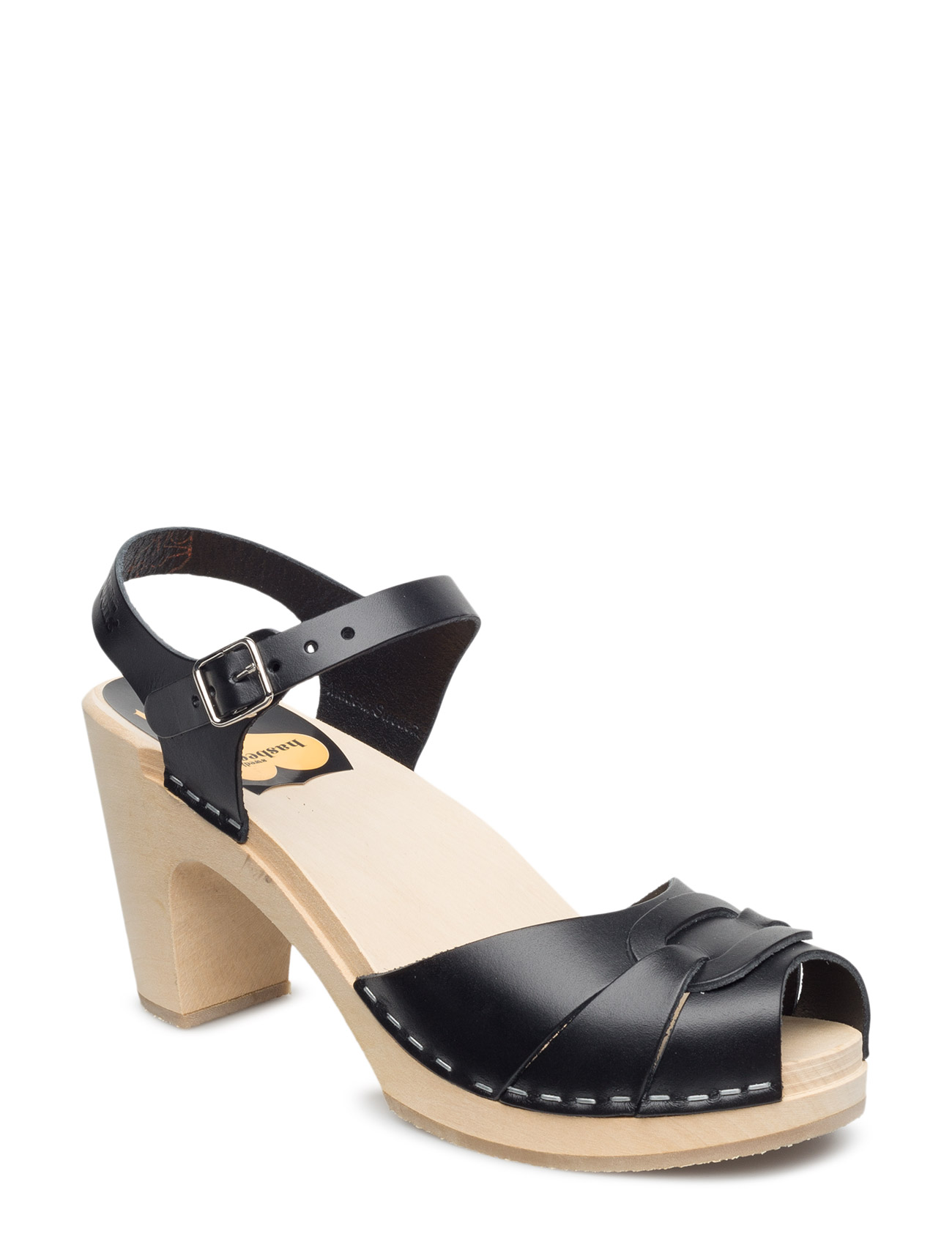 Swedish Hasbeens Peep toe Super High