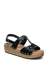 Rivet Sandal - BLACK