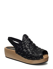 Arty Sling Back - BLACK