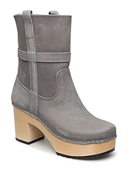 Country Boot - GREY NUBUCK