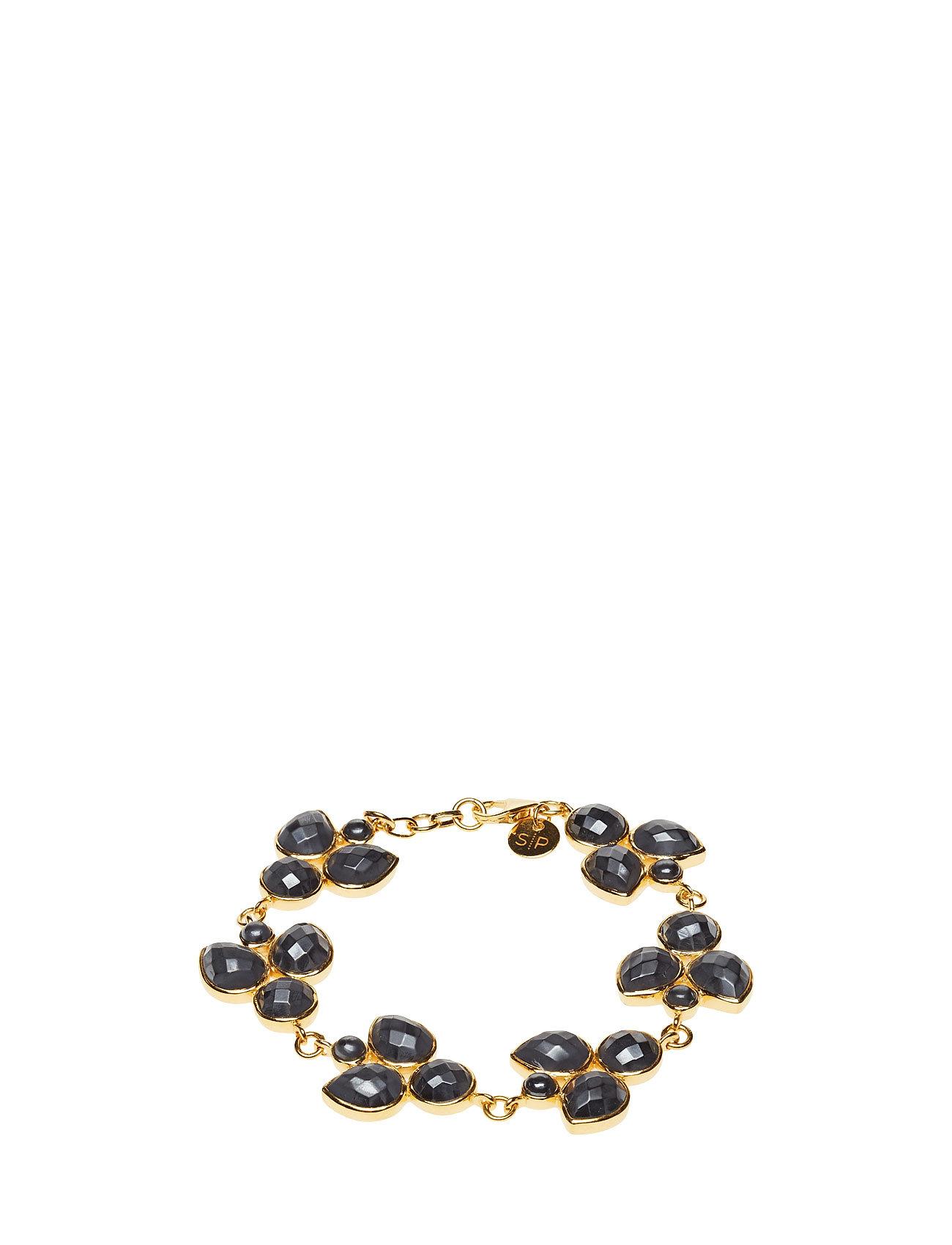 Miss Diva Bracelet Gold Hematite Syster P Smykker til Damer i Guld
