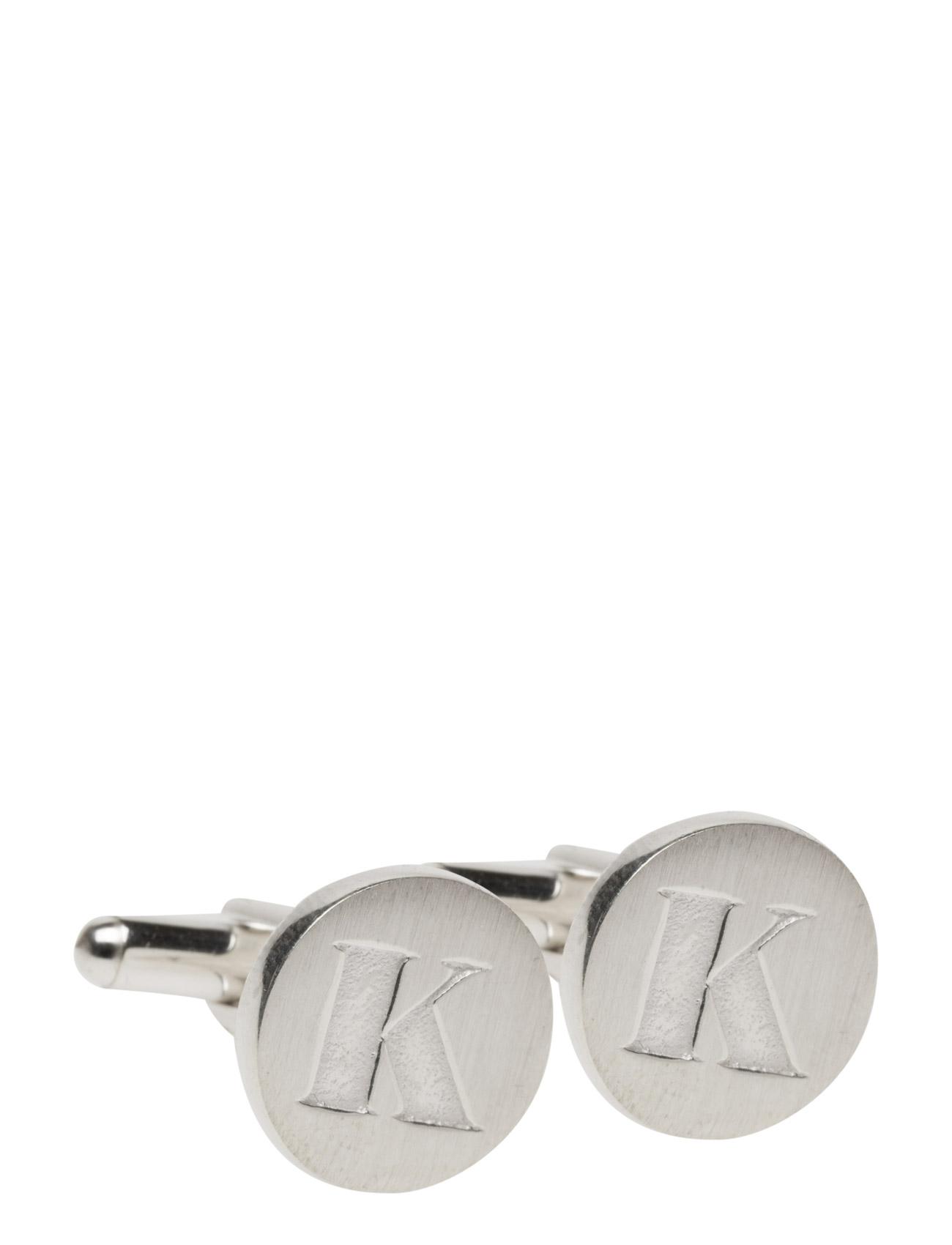Signature Cufflinks Silver Pair Syster P Manchetknapper til Herrer i Sølv