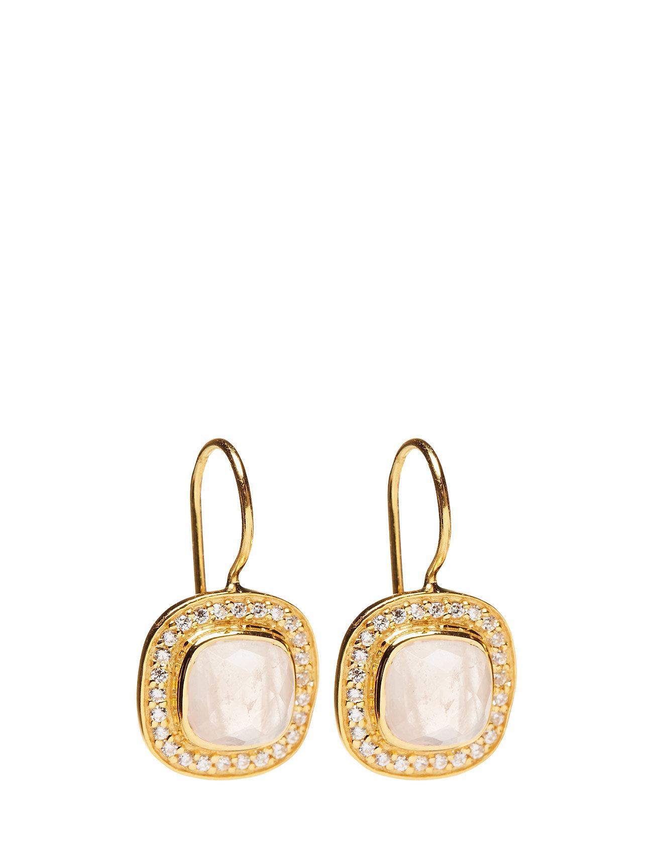 Classy Earrings Pink Opal Syster P Smykker til Damer i