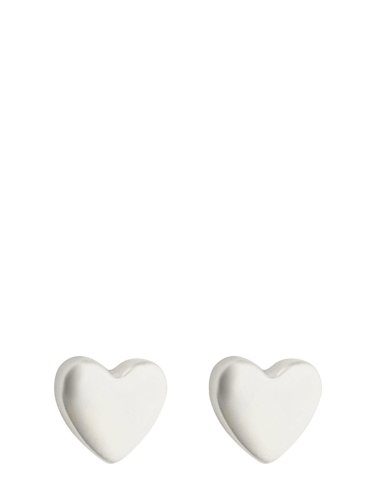 Sparkle Heart Earrings Syster P Smykker til  - MoteJakten.no