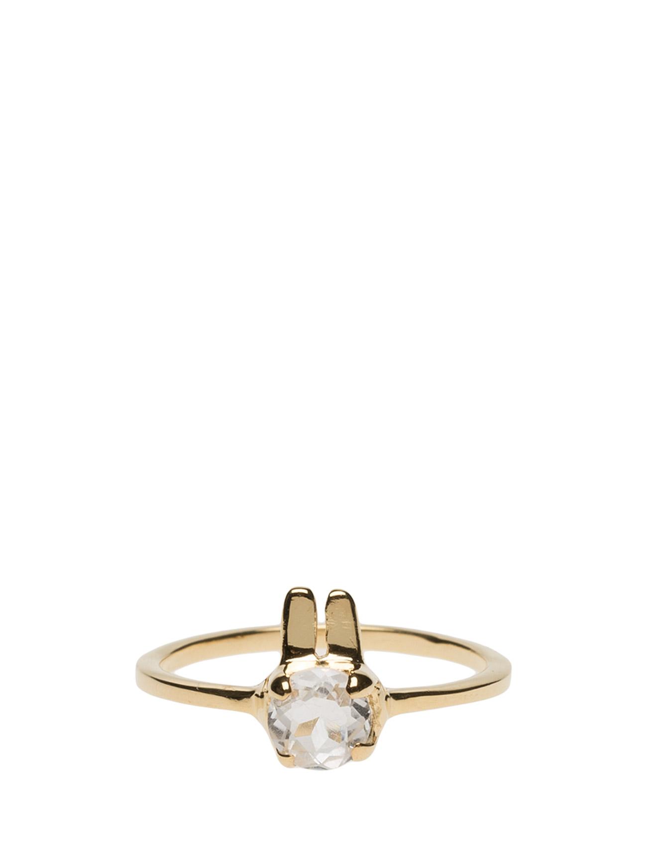 Tiny Rabbit Ring Gold Syster P Smykker til Damer i Guld