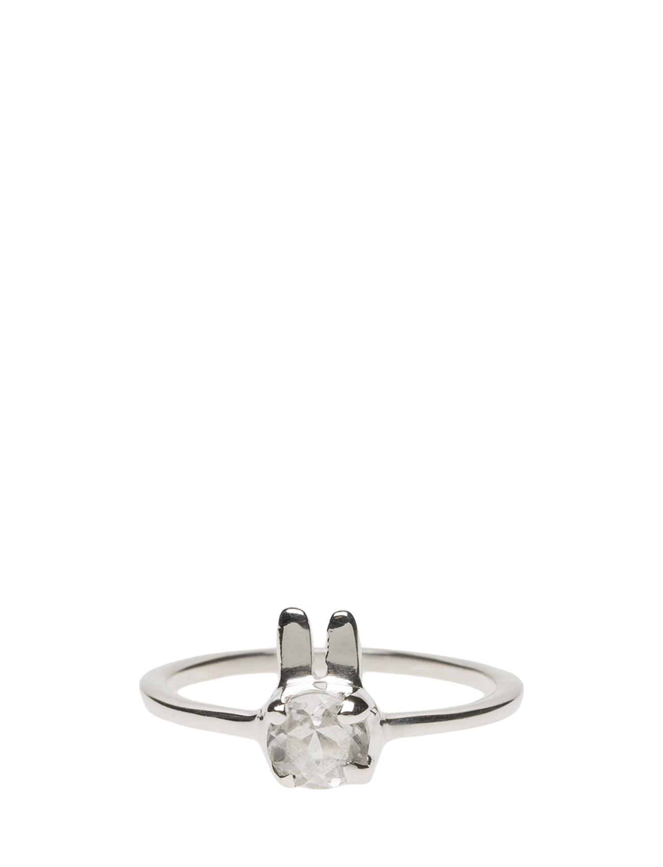Tiny Rabbit Ring Silver Syster P Accessories til Kvinder i Sølv