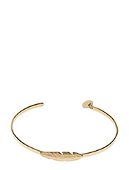 Feather Bangle Gold - GOLD