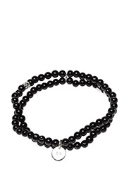 Chris Double Bracelet Black Onyx - BLACK ONYX