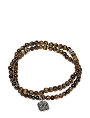 Chris Double Bracelet Tiger Eye - TIGER EYE