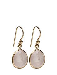 Raindrop Earrings Gold Rose - GOLD