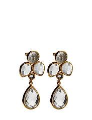 Miss Diva Dangling Earrings - GOLD