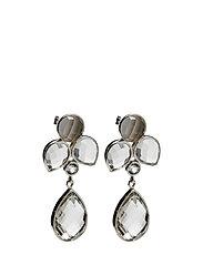 Miss Diva Dangling Earrings - SILVER