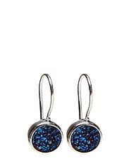 Frances Druzy Earrings Silver blue - SILVER