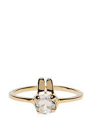 Tiny Rabbit Ring Gold - STERLING SILVER PLATED WITH 18K GOLD