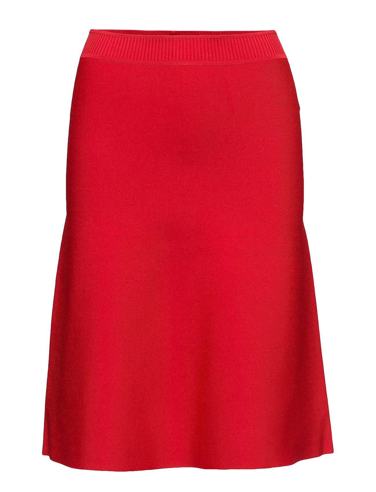Dull rayon knit a-line flare skirt fra t by alexander wang på boozt.com dk